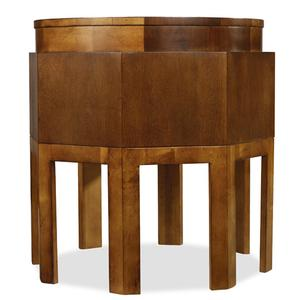 Hooker Furniture - Trilogy Octagonal Accent Table/Oval Cocktail Table/Nesting Tables-4 pc. Group-Floor Samples-**DISCONTINUED**
