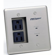 See Details - Max-In-Wall Power-Pro-PFP, (2) 15A OUTLETS, Surge Protection, EMI/RF Filtration