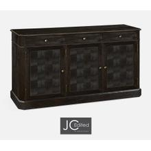 "64"" Dark Ale Three Door Sideboard"