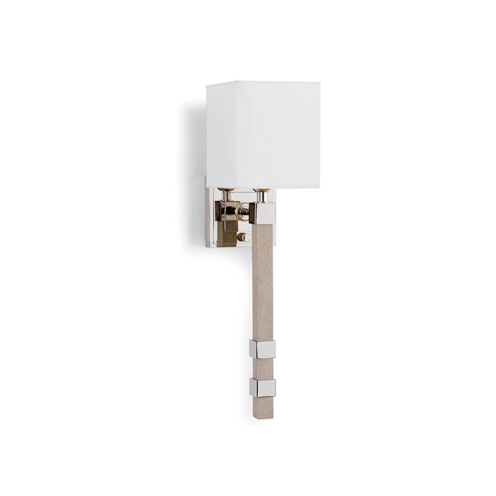 See Details - Metro Sconce (ivory Grey Shagreen)