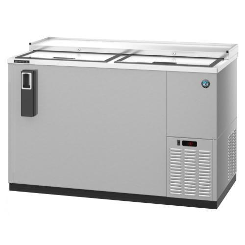 CC50-S, Refrigerator, Two Section, Stainless Steel Back Bar Bottle Cooler, Slide Top Doors