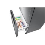 Samsung Appliances 18 cu. ft. Smart Counter Depth 3-Door French Door Refrigerator in Stainless Steel