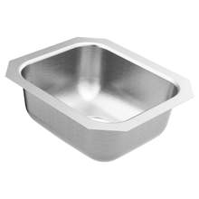 2000 Series 14.5 x 12.5 stainless steel 20 gauge single bowl sink