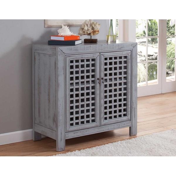 See Details - Rio Accent Cabinet, Grey