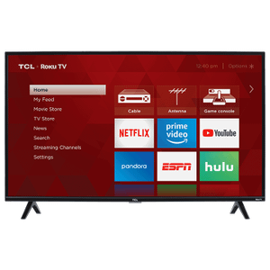 "TCL 40"" CLASS 3-SERIES FHD LED ROKU SMART TV - 40S325"
