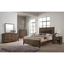 See Details - Englewood Oak Transitional Bedroom