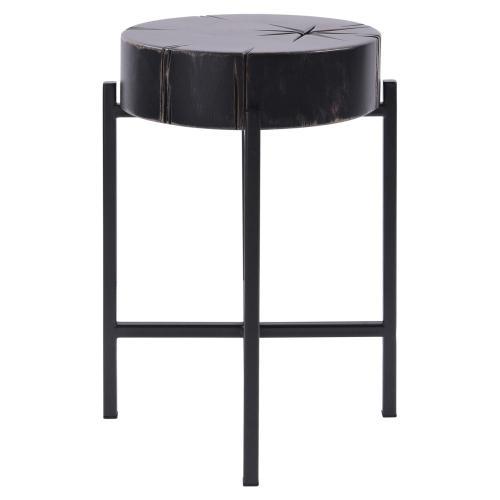 Inka Side Table, Dark Mist Black