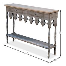 Napoleon Hall Table Smokey Grey