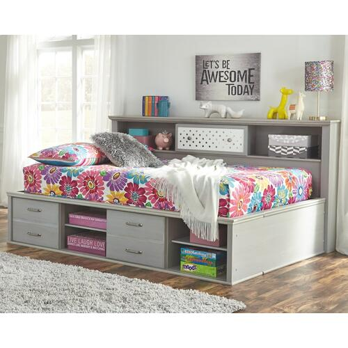 Arcella Full Bookcase Bed