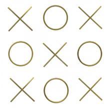 """XOXO Wall Décor - 19.5"""" W x 19.5"""" D x 19.5"""" H"""