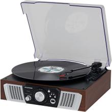 Turntable with 2 Built-in Speakers & USB Playback