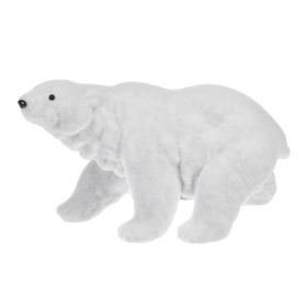 Arctic Wonderland Polar Bear Figurine - Lg.
