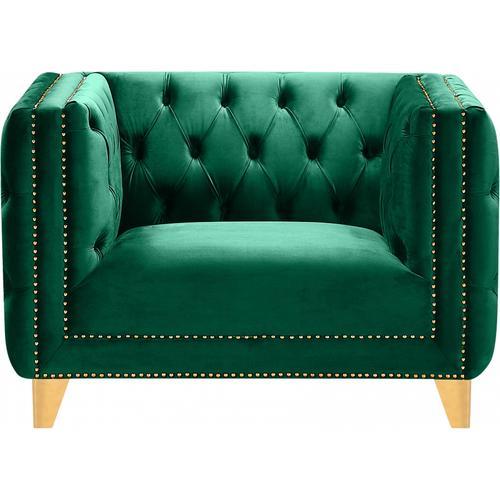 "Michelle Velvet Chair - 44"" W x 34"" D x 30"" H"