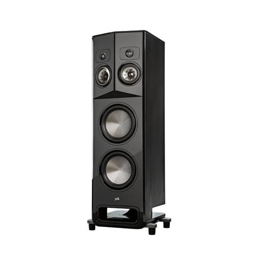 Polk Legend Series Premium Floorstanding Tower Speaker with Patented SDA-PRO Technology in L800 R Black Ash