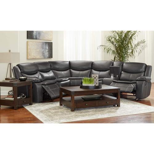 Lane Home Furnishings - 59924 3 Piece Power Reclining Sectional