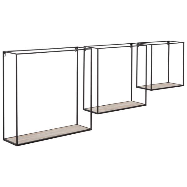 See Details - Efharis Wall Shelf (set of 3)