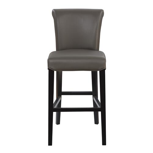 "Briar III 30"" Upholstered Bar Stool, Gunmetal Gray D109-30-13"