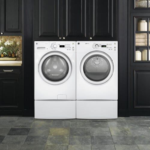 GE 4.8 Cu. Ft. Front Load Energy Star Electric Washer White - GFW400SCMWW