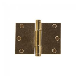 """Butt Hinge (Wide Throw) - 3.5"""" x 5"""" Silicon Bronze Brushed Product Image"""