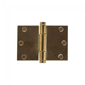 "Butt Hinge (Wide Throw) - 3.5"" x 5"" Silicon Bronze Brushed Product Image"