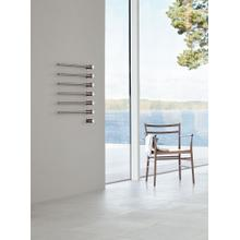 Build-in modular electric heated towel rail for individual design solutions - Light blue