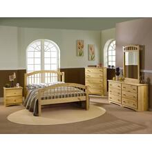 Arch Spindle Platform Bed