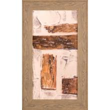 Birch Bark Abstract I- Embelished