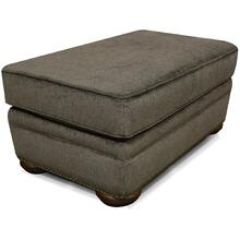 Knox Ottoman with Nails