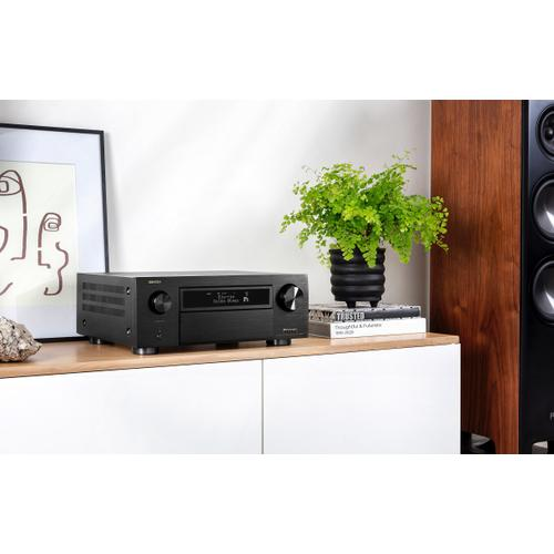 (2020 Model) 11.2 Ch. 8K AV Receiver with 3D Audio, HEOS® Built-in and Voice Control