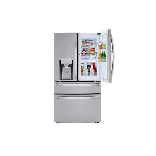 LG - 30 cu. ft. Smart wi-fi Enabled Refrigerator with Craft Ice™ Maker
