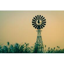 Windmill In Sepia