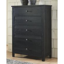 Noorbrook Chest of Drawers Black
