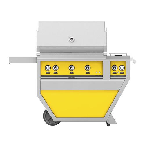 """36"""" Hestan Outdoor Deluxe Grill with Double Side Burner - G_BR__CX_ Series - Sol"""