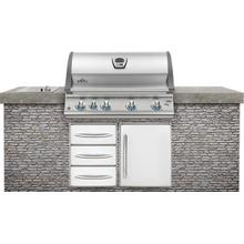 Product Image - Built-In LEX 605 RBI Stainless Steel with Infrared Bottom and Rear Burners
