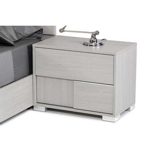 Modrest Ethan Italian Modern Grey Bedroom Set