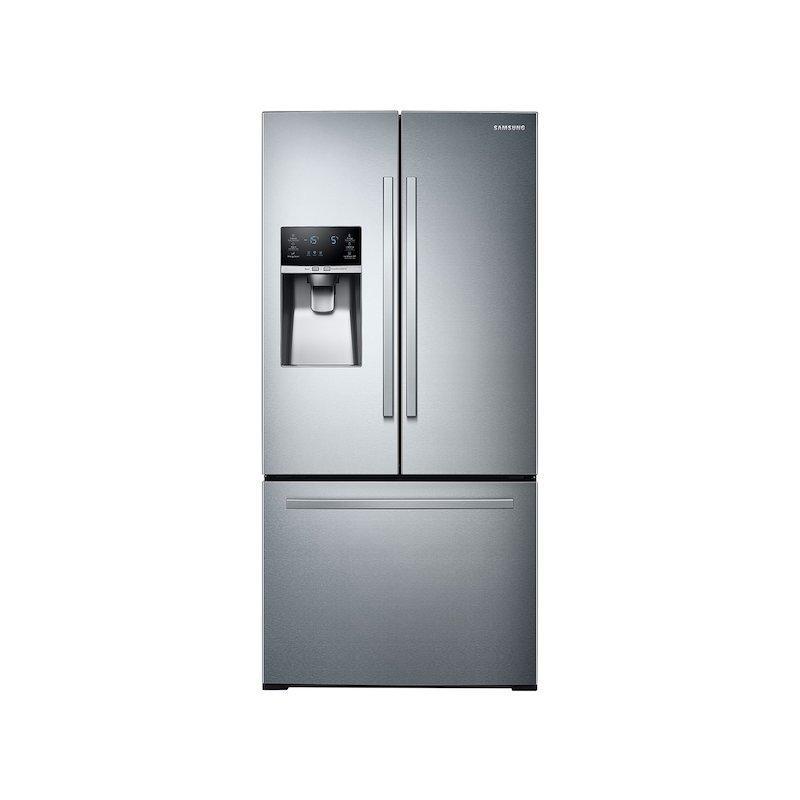 26 cu. ft. 3-Door French Door Refrigerator with External Water & Ice Dispenser in Stainless Steel