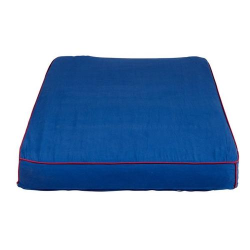 Mattress Cover (Twin) : Blue/Red
