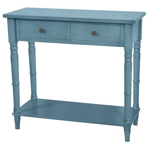 Crestview Collections - Treasure Collection Distressed Blue