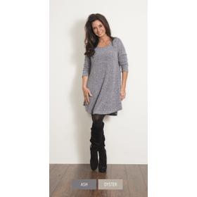 WB Button Placket Knit Dress (4 pc. ppk.)