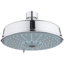 "Rainshower Rustic 160 Shower Head, 6-1/4"" - 4 Sprays, 2.5 Gpm"