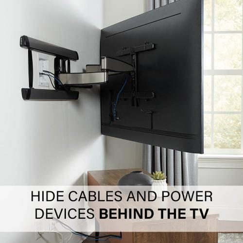 Sanus - In-Wall TV Power and Cable Management Kit