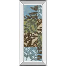 """Leaves Il"" Mirror Framed Print Wall Art"