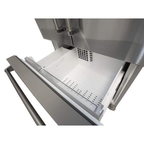"""BlueStar - 36"""" Freestanding Counter-Depth French Door Refrigerator/Freezer"""