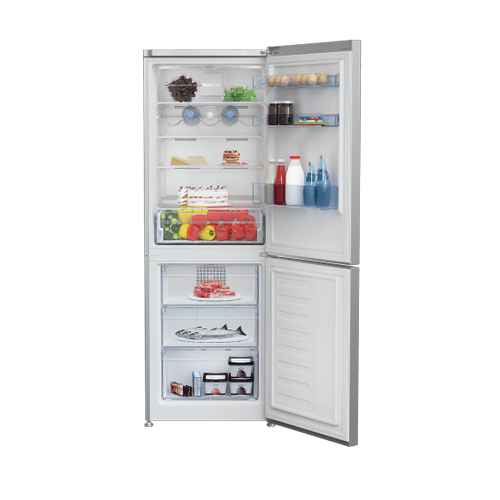 "24"" Freezer Bottom Silver Refrigerator"