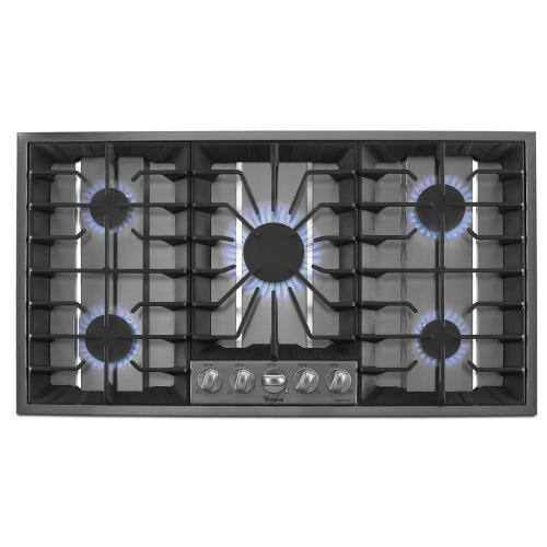 Gold® 36-inch Gas Cooktop with Recessed Grate Design - SPECIAL DISPLAY CLEARANCE @ SANTA FE STORE # 338661