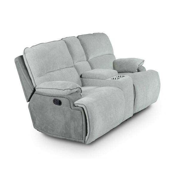 See Details - Cyprus Manual Reclining Console Loveseat