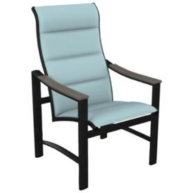 Brazo Padded Sling High Back Dining Chair
