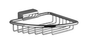Soap basket for corner installation - chrome Product Image