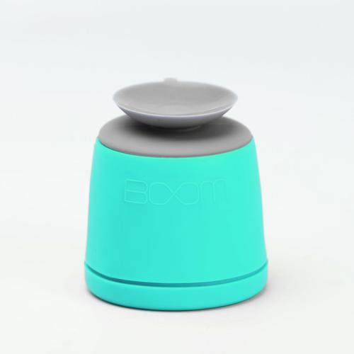 Waterproof Bluetooth Speaker in Mint/Gray