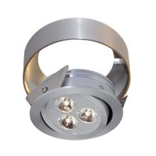 Tiro Collar 3 Light Tiro Conversion ring for Under Cabinet in Brushed Aluminum